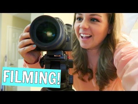 How I Film My Youtube Videos! Behind the Scenes!