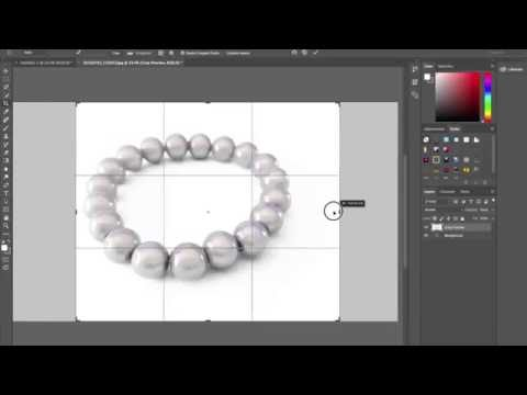 How to do perfect and easy white background jewellery product photography using photoshop