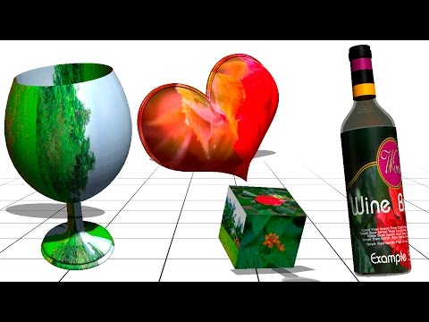 How to Design/Create 3D Objects/Shapes in Adobe Photoshop
