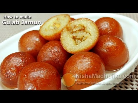Gulab Jamun recipe - Gulab Jamun Recipe with Khoya or mawa