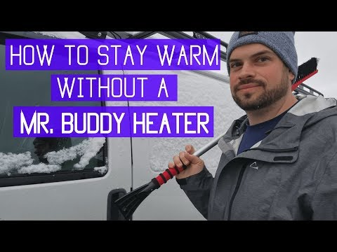 Van Life : How to Stay Warm in Your Van WITHOUT a Mr. Buddy Heater