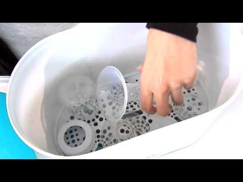 Avent Baby Bottles - How To Sterilise Baby Bottles Demonstration Video | BabySecurity