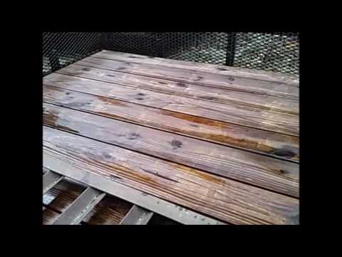 Best Method for Treating Wood Decks on your Utility Trailer, etc..