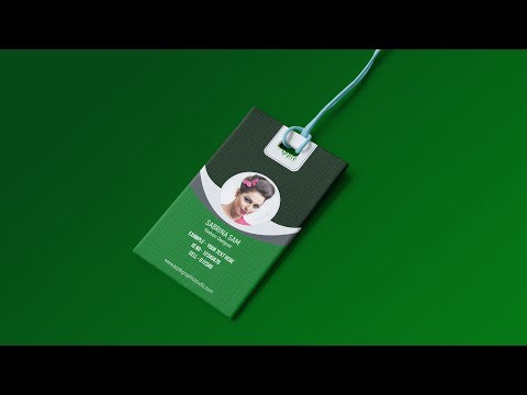 How to Make Student ID Card in Photoshop