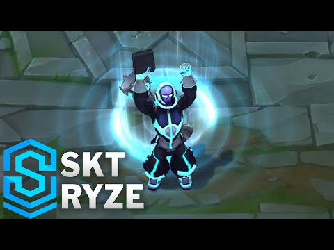SKT Ryze Skin Spotlight - Pre-Release - League of Legends