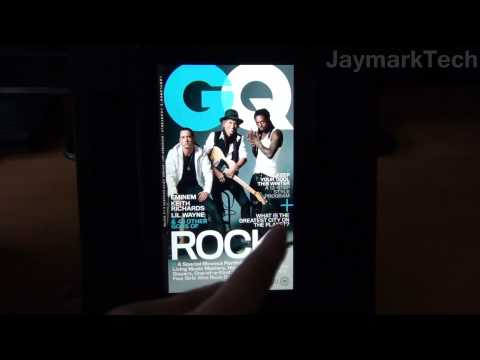 Amazon Kindle Fire- Magazines and Newsstand