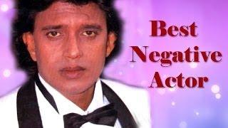 Filmfare Awards For Best Negative Actor In 1996 - Mithun Chakraborty