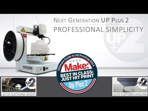 New UP Plus 2 3D Printer (Australia, New Zealand & South Africa)