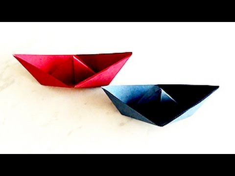 How to Make Paper Boat Creating Paper Boat | Paper Art and Craft for Kids