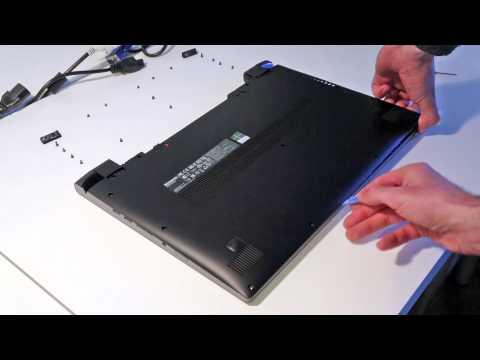 Lenovo Flex 14 and Flex 15 - HDD and Memory upgrade guide