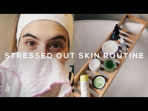 SKINCARE ROUTINE FOR STRESSED & SENSITIVE SKIN | Lily Pebbles