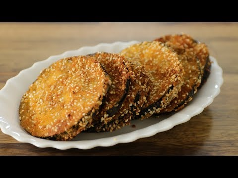 Best Crispy Fried Eggplant Recipe