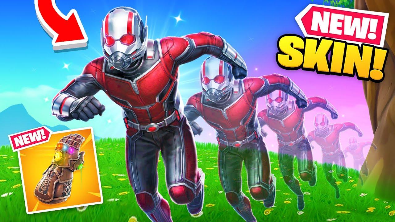 *NEW* ANT-MAN SKIN in Fortnite! (Thanos Returns!?)