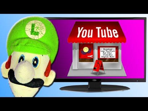 YouTube Store - Luigi Time!!!
