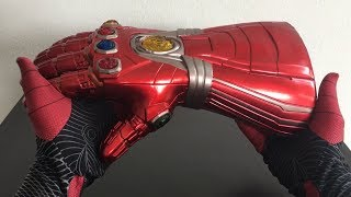 Download Spiderman Far From Home Unboxing ENDGAME IRONMAN NANO INFINITY GAUNTLET Video