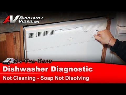 Frigidaire Electrolux Dishwasher Diagnostic - Dishes are not cleaning - FBD2400KW2A