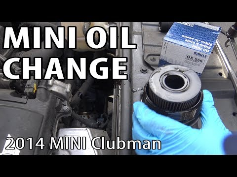How to Change Oil on a MINI