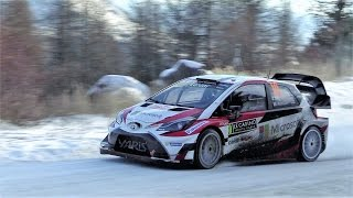 Toyota Yaris WRC 2017  - MAX ATTACK, FLAMES & PURE SOUND [HD]