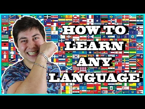 HOW TO LEARN ANY LANGUAGE EASILY