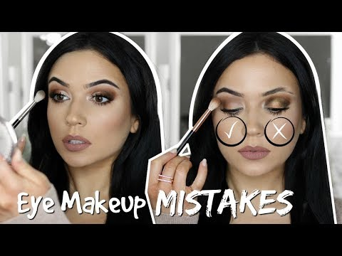 Eyeshadow Do's and Don'ts | Top 5 Beginner Eye Makeup Mistakes