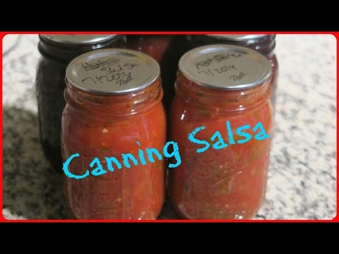 HOME CANNED SALSA {MRS. WAGES}