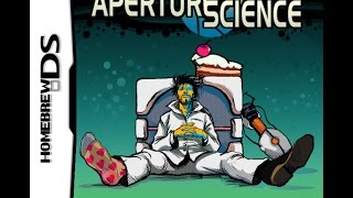 How To Put Aperture Science (Portal) on your Nintendo DS