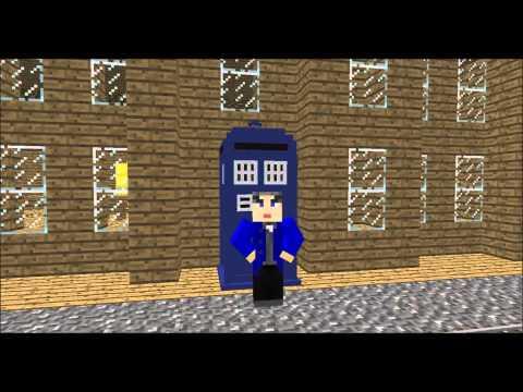 The Blocktor loses his tardis (Minecraft short)