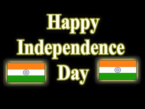 Happy Independence Day wishes || (2D animation) by || Chakri King Maker