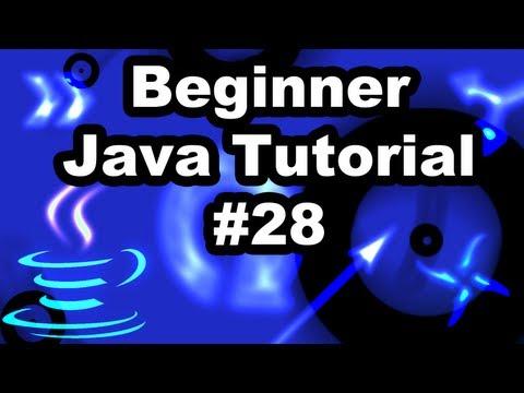 Learn Java Tutorial 1.28 - Using