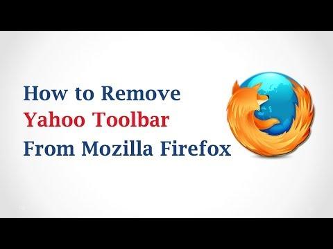 How to Remove Yahoo Toolbar From Mozilla Firefox