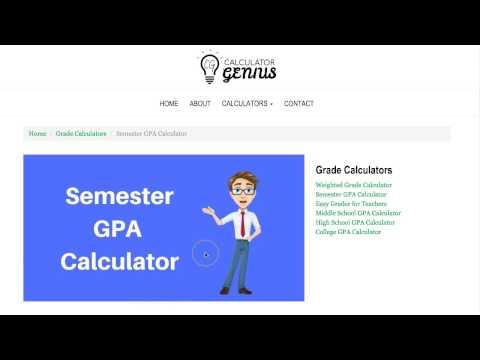 Semester GPA Calculator