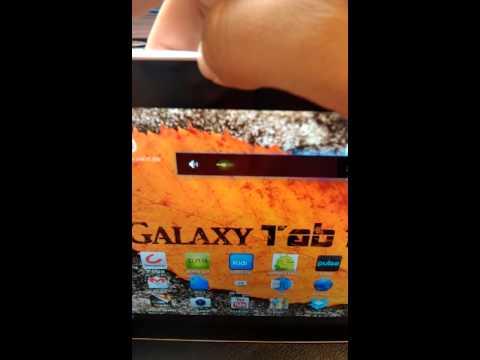 Galaxy tab flaw?