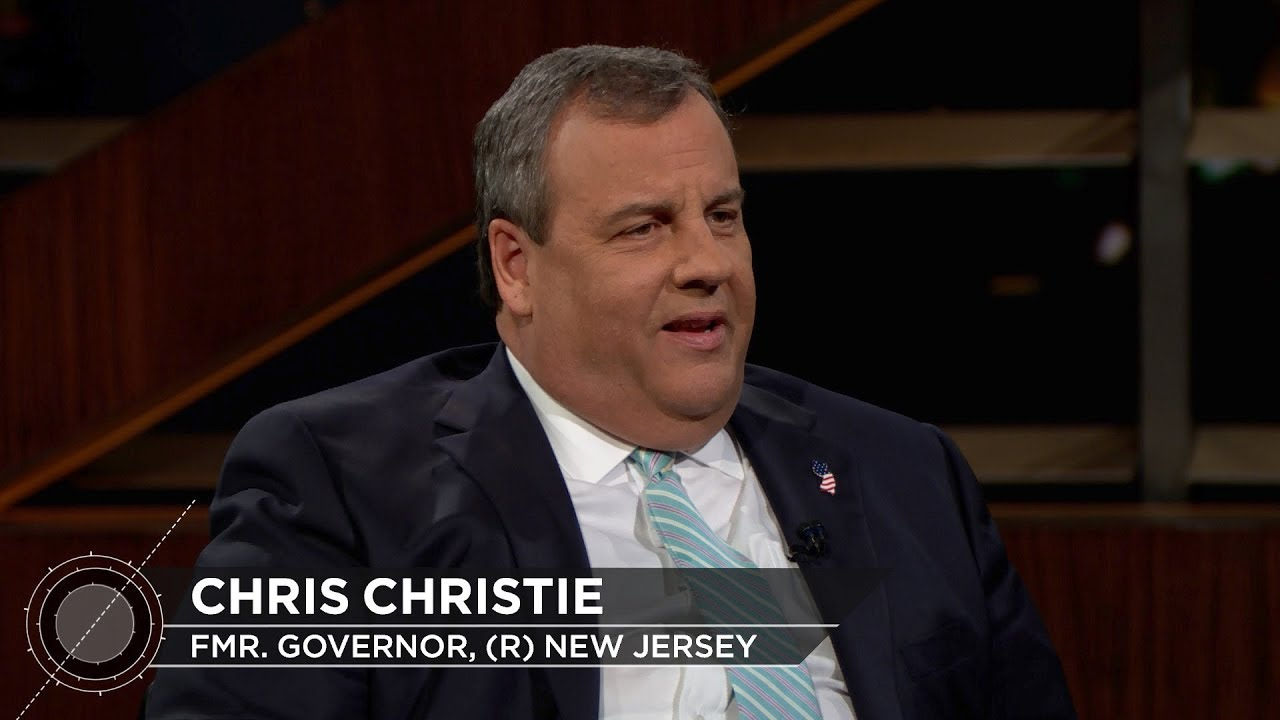 Gov. Chris Christie | Real Time with Bill Maher (HBO)