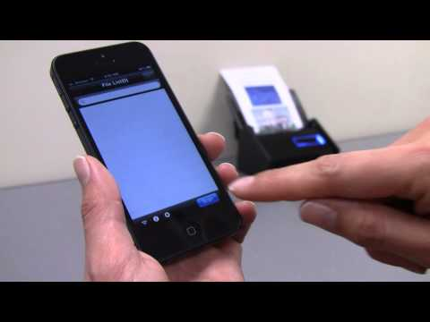 Scan Straight to Your Mobile Device with the ScanSnap iX500