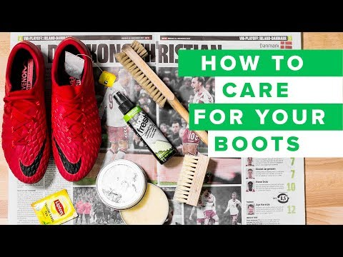 HOW TO CARE FOR YOUR FOOTBALL BOOTS