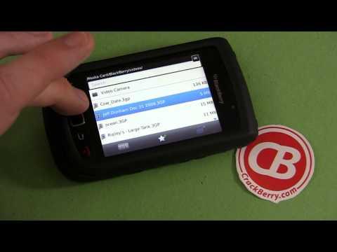 BlackBerry 101: Hiding and Unhiding a Video
