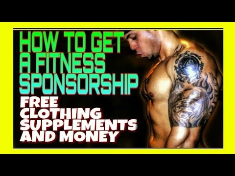 Sponsorship For Fitness: How To Get A Fitness Sponsorship/Instagram and More!