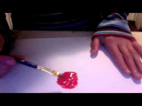 Easy 2 Ingredient Homemade Paint