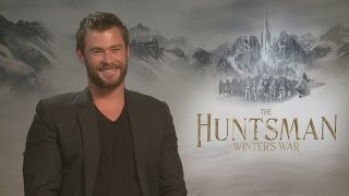 The Huntsman: Chris Hemsworth on not looking like Harry Styles and fighting strong women