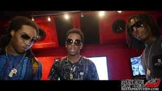 "Migos & Rich The Kid ""Streets On Lock"" In-Studio [Mixtape Kitchen Exclusive]"