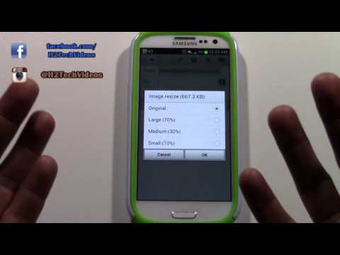 Galaxy S3 - How to Email a Picture (From the Phone)​​​ | H2TechVideos​​​