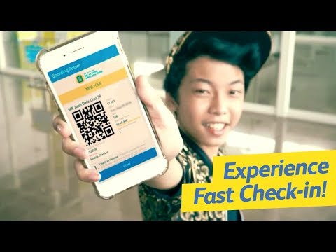 Experience fast check-in!