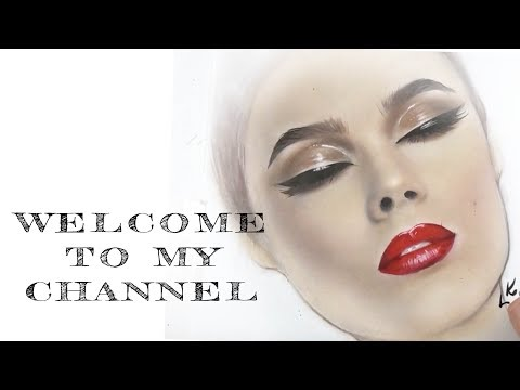 FACECHART | DRAWING WITH MAKEUP | WET GLOSSY EYES
