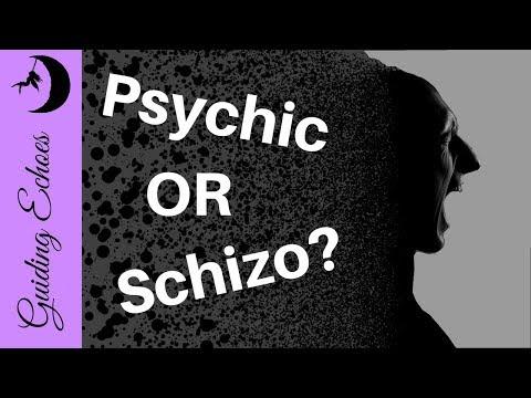 Psychic Medium or Schizophrenic?