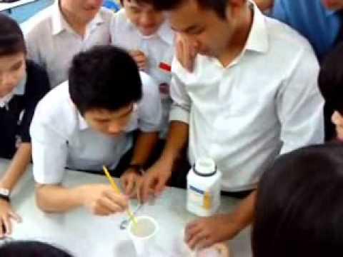 Heat of solution ammonium nitrate