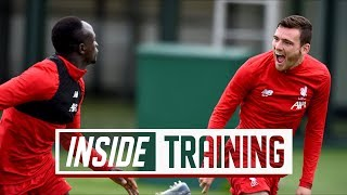 Inside Training: Behind the scenes with goals, games and head-to-heads at Melwood