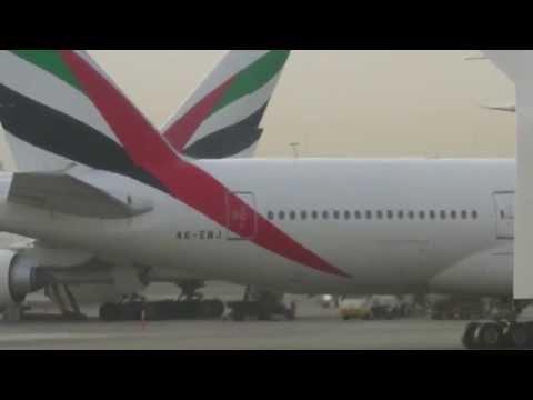 Emirates EK17 Full Flight - Dubai to Manchester (Airbus A380-800)