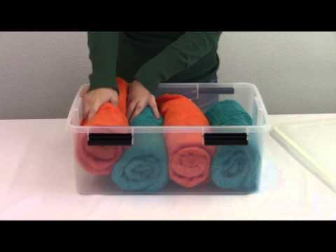Iris airtight plastic container 30 quart