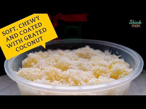 Shiokman Kueh Ubi Kayu (Steamed Tapioca/Cassava Cake)