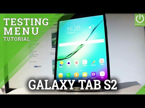 How to Test SAMSUNG Galaxy Tab S2 - Test Mode / Hardware Test